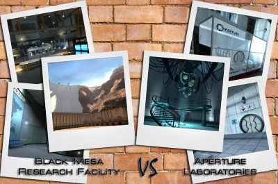 Black Mesa vs. Aperture Science