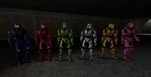 Halo Player Models