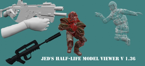 Jed's Half-Life Model Viewer v1.36
