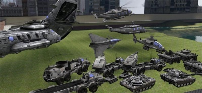 Endwar European Vehicles