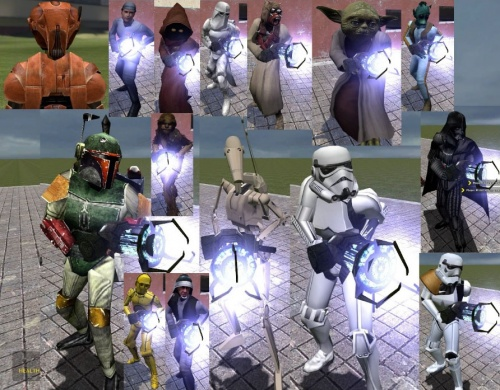 Star Wars Player Models