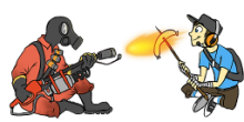 Spray Pyro-Scout