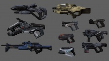 Mass Effect 2 DLC Weapons