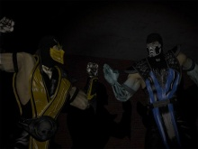 MK9 Scorpion and Sub-Zero