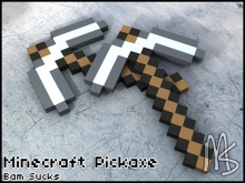 Minecraft like Pickaxe