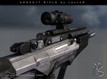 Assault Rifle (модель Sig 552 )