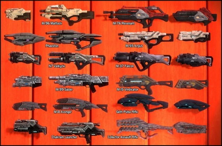 Mass Effect 3: Weapons