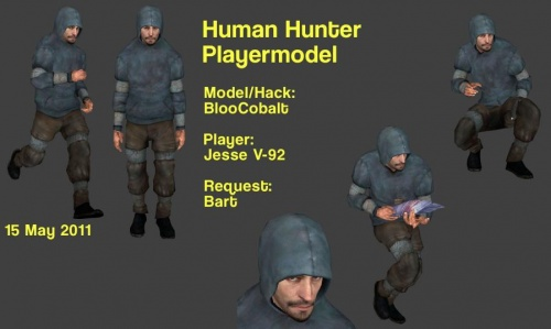 Human Hunter Playermodel