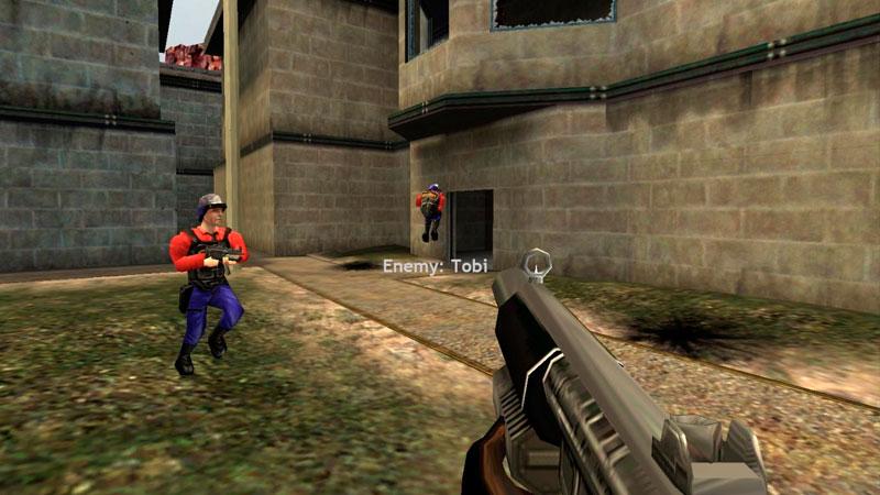 Half-life deathmatch: source.