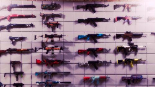 Пак оружия из CSGO