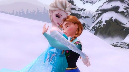 Анна из Frozen